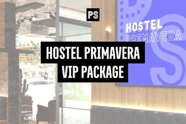 VIP Festival Pass + Hostel Primavera