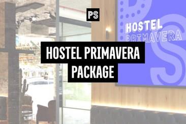 Full Festival Pass + Hostel Primavera