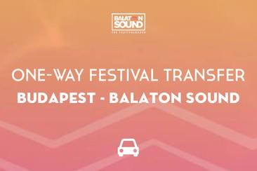 Festival transfer - enkele reis | Boedapest - Balaton Sound