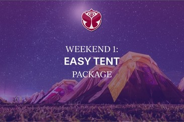 Weekend 1: Packs Easy Tent