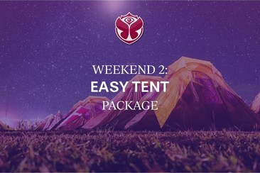 Weekend 2: Easy Tent Packages