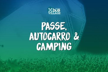 Ticket + Return Bus + Camping Xbus Village