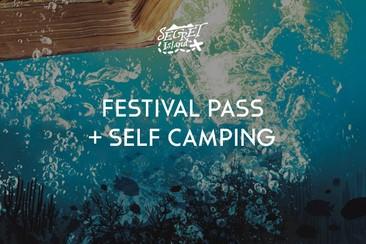 Festival Pass + Self Camping
