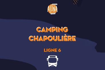 Camping La Chapoulière Shuttle Transfer | Ligne 6 - RETURN