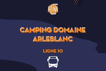 Camping Domaine Arleblanc Shuttle Transfer | Ligne 1 - RETURN