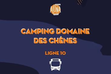 Camping Domaine des Chênes Shuttle Transfer | Ligne 10 - RETURN
