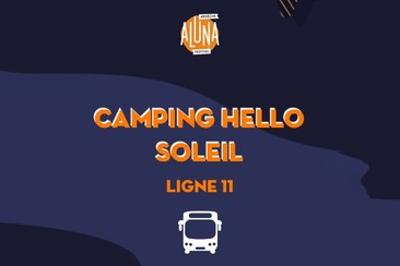 Camping Hello Soleil Shuttle Transfer | Ligne 11 - RETURN