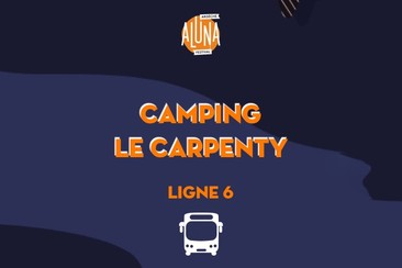 Camping Le Carpenty Shuttle Transfer | Ligne 6 - RETURN