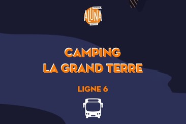 Camping La Grand Terre Shuttle Transfer | Ligne 6 - RETURN
