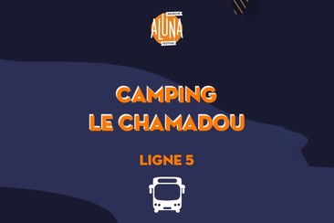 Camping Le Chamadou Shuttle Transfer | Ligne 5 - RETURN