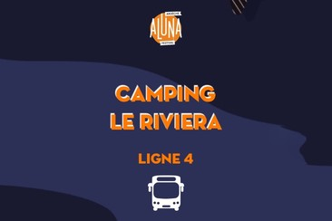 Camping Le Riviera Shuttle Transfer | Ligne 4 - RETURN