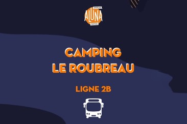 Camping Le Roubreau Shuttle Transfer | Ligne 2B - RETURN