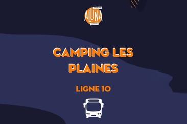 Camping La Plaine (Rosières) Shuttle Transfer | Ligne 1 - RETURN