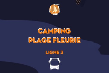 Camping Plage Fleurie Shuttle Transfer | Ligne 3 - RETURN