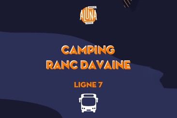 Camping Ranc Davaine Shuttle Transfer | Ligne 7 - RETURN