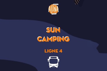 Sun Camping Shuttle Transfer | Ligne 4 - RETURN
