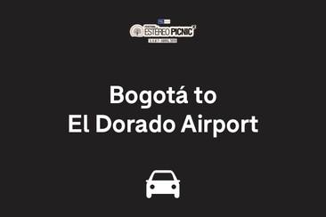 Traslado solo ida: del centro de Bogotá hasta el aeropuerto internacional El Dorado