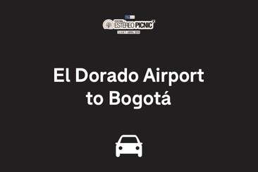 Traslado solo ida: del aeropuerto internacional El Dorado al centro de Bogotá