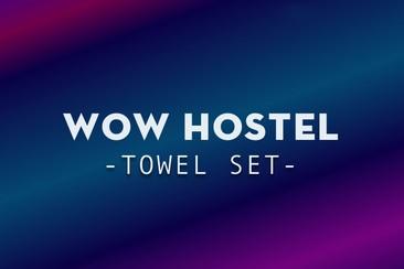 WOW Hostel - Handtuch-Set