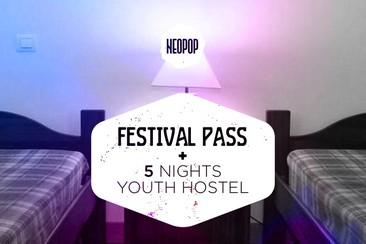 Pass Festival + 5 nuits en auberge (Pousada da Juventude de Viana)
