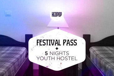 Festivalpass + 5 Nächte in der Jugendherberge (Pousada da Juventude de Viana)