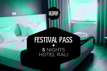 Passe de Festival + 5 noites no Hotel Rali**