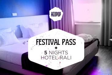 Pass du festival + 5 nuits dans l'Hotel Rali