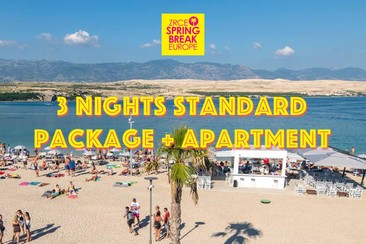 3 Nights Standard Package + Apartment
