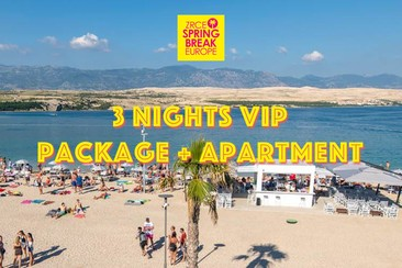 3 Nights VIP Packages + Apartment