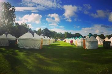 Yurt at Noisily Festival