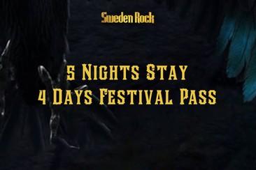 Festival Pass + 5 Nights in Kristianstad