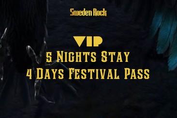 VIP Festival Pass + 5 Nights in Kristianstad
