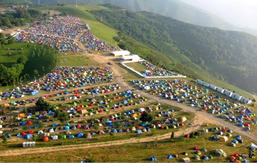 Bilbao BBK Live Campsite 6