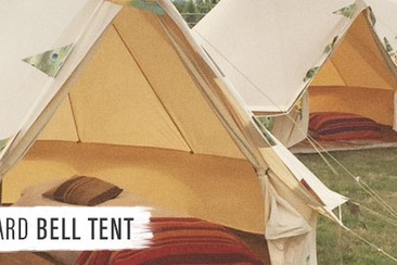 Standard Bell Tent at Boutique Camping