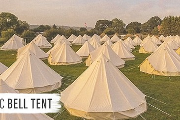 Classic Bell Tent at Boutique Camping