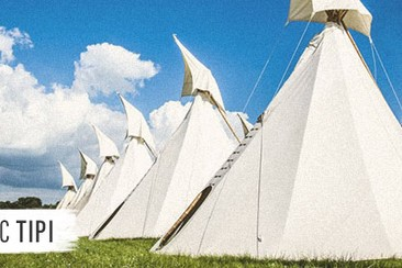 Classic Tipi at Boutique Camping