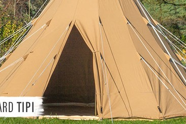 Standard Tipi at Boutique Camping