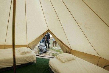Bell Tent  @ Campfest Glamping