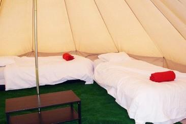 Bell Tent  @ Villacamp