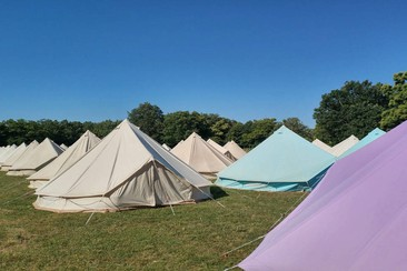 The Glamping Company - Bell Tent at Medusa Sunbeach 2019