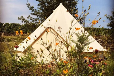 3 Nights - Tipi for 2 Persons by Bed & Smile