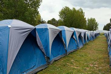 The Glamping Company - Easy Tent Deluxe beim Azkena Rock Festival 2019