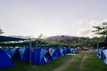 Easy Tent beim Villacamp