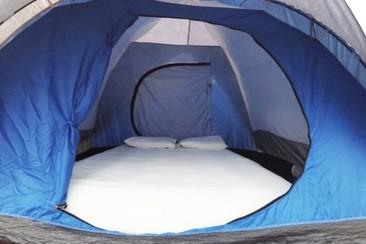 Easy-Zelt Deluxe beim Villacamp