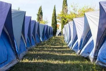 The Glamping Company - Easy Tent beim Azkena Rock Festival 2019