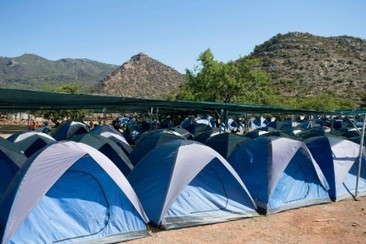 Easy Tent bei Campfest Glamping