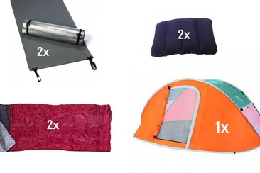 Tentenzo Camping | Festival Package Basic