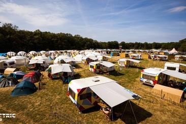 Tipi De Luxe - Kapi Up @ Electric Paradise Camping
