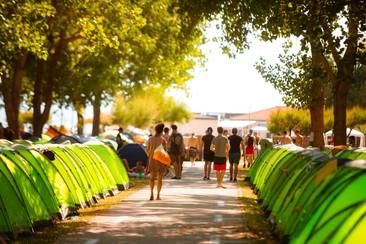 Camping Spot at Ultra Beachville Campsite
