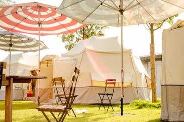 Luxury Dome @ Electric Paradise Campsite